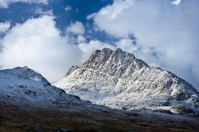 TryfanWinter Snowdonia North Scenery